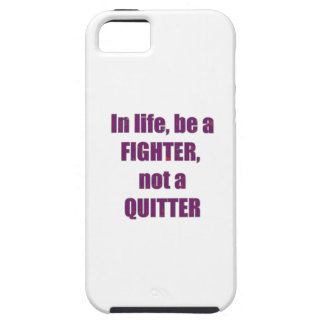 FIGHTER Quitter Quote Wisdom TEMPLATE Resellers iPhone 5 Case
