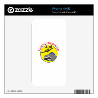 Fighter Squadron Decals For The iPhone 4S