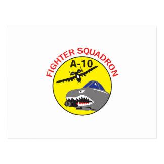 Fighter Squadron Postcard