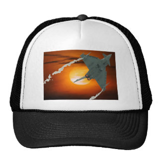 FIGHTER SUN TRUCKER HAT