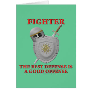 Fighter: The Best Defense Card