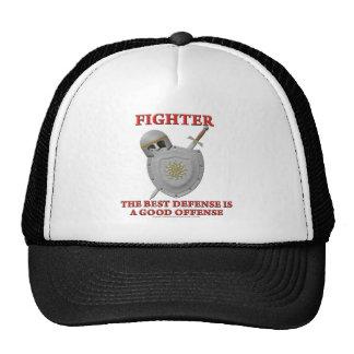 Fighter: The Best Defense Trucker Hat