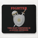 Fighter: The Best Defense Mouse Pad