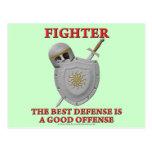 Fighter: The Best Defense Postcard