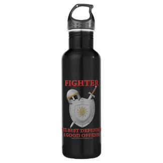 Fighter: The Best Defense Water Bottle
