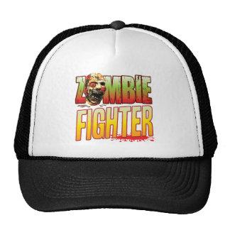 Fighter Zombie Head Hat