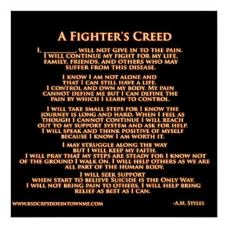 Fighters Creed Poster