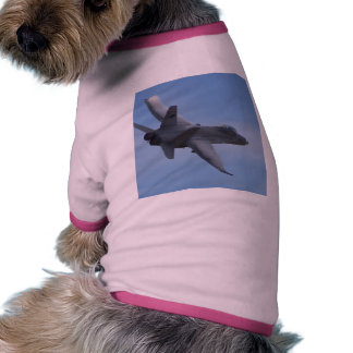 Fighters Jets Planes Pet Tee Shirt