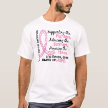 Fighters Survivors Taken 4 Breast Cancer T-Shirt