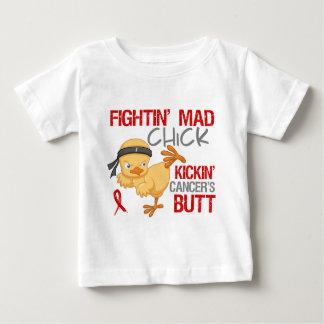 Fightin Chick Blood Cancer Shirt