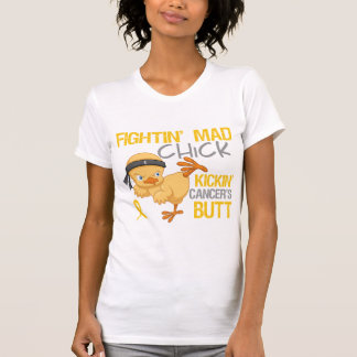 Fightin Chick Childhood Cancer Tees