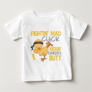 Fightin Chick Childhood Cancer Tshirt