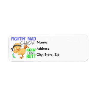 Fightin Chick EDS Label