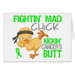 Fightin Chick General Lymphoma Card