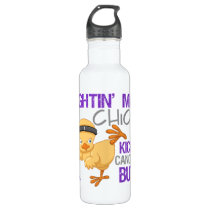 Fightin Chick GIST Cancer Water Bottle