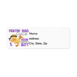 Fightin Chick Leiomyosarcoma Label