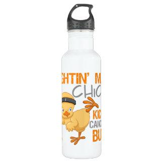 Fightin Chick Leukemia Stainless Steel Water Bottle
