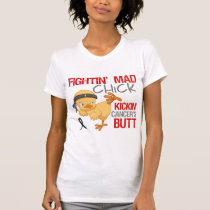 Fightin Chick Melanoma T-Shirt