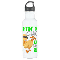 Fightin Chick Non-Hodgkins Lymphoma Water Bottle