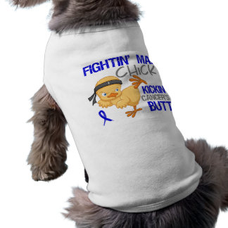 Fightin Chick Rectal Cancer Tee
