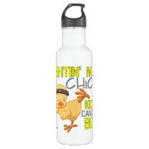 Fightin Chick Sarcoma Water Bottle