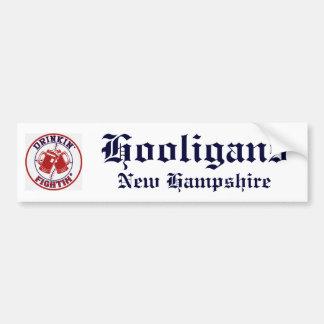 fightin, Hooligans, New Hampshire Bumper Sticker