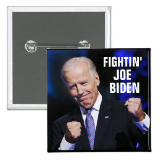 Fightin' Joe Biden Pinback Button