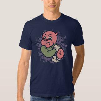 Fightin' Mad Retropig Tee Shirt