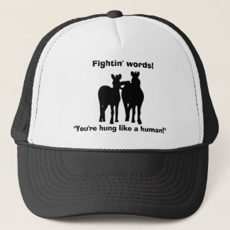 Fightin' Words Funny Horses Hat