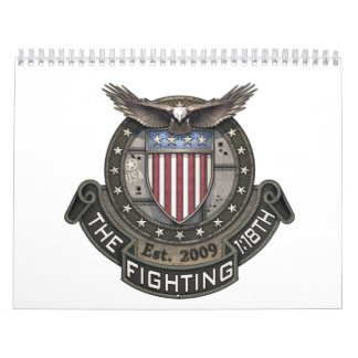 Fighting 118th banner calendar