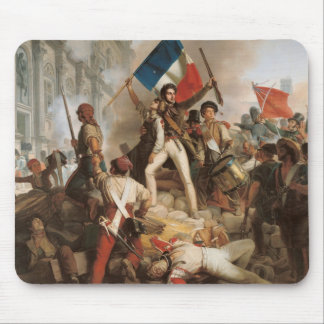 Fighting at the Hotel de Ville Mouse Pad