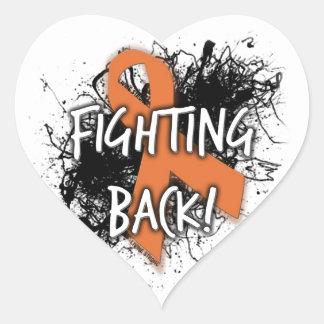 Fighting Back Heart Sticker
