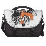 Fighting Back Laptop Messenger Bag