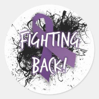 Fighting Back- Lupus Classic Round Sticker