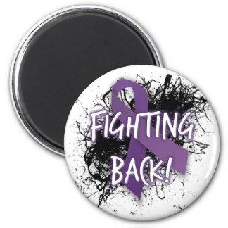 Fighting Back- Lupus Refrigerator Magnets