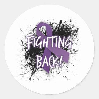 Fighting Back- Lupus Round Sticker