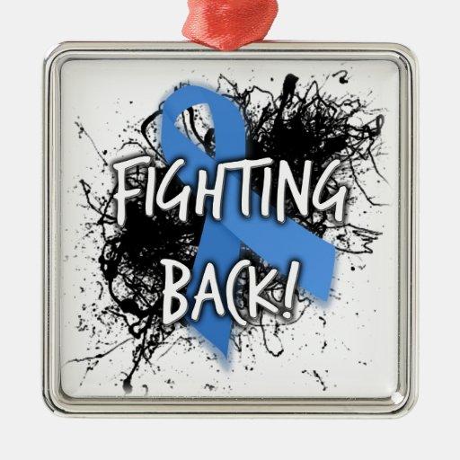 Fighting Back Metal Ornament