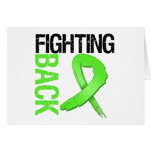Fighting BACK Non-Hodgkin's Lymphoma Greeting Card