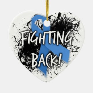 Fighting Back Christmas Ornament