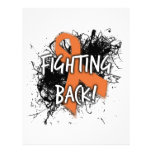 Fighting Back Personalized Letterhead