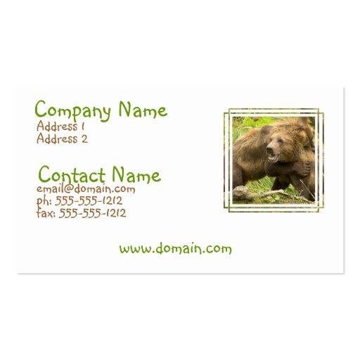 Fighting Bears Business Card