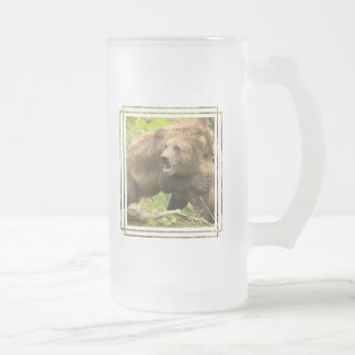 Fighting Bears Frosted Beer Mugs