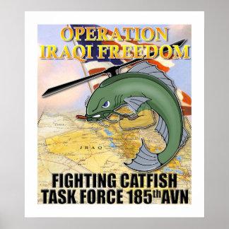 Fighting Catfish Poster
