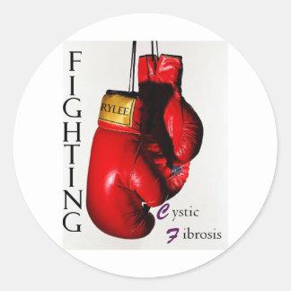 Fighting CF Ry Classic Round Sticker