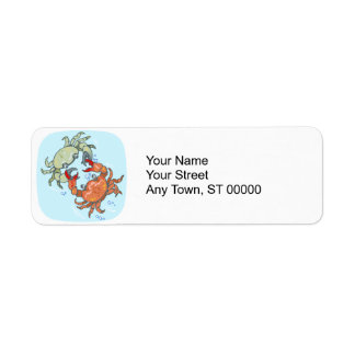 fighting crabs label