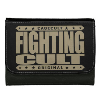 FIGHTING CULT - Savage Mixed Martial Arts Fanatics Leather Wallet For Women
