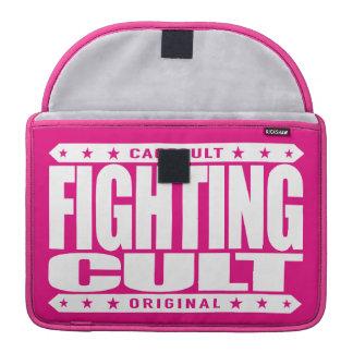 FIGHTING CULT - Savage Mixed Martial Arts Fanatics MacBook Pro Sleeve