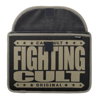 FIGHTING CULT - Savage Mixed Martial Arts Fanatics MacBook Pro Sleeves