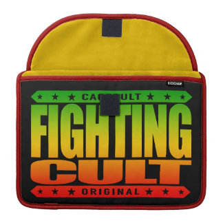 FIGHTING CULT - Savage Mixed Martial Arts Fanatics Sleeves For MacBook Pro