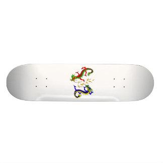 Fighting Dragons Skateboard Deck
